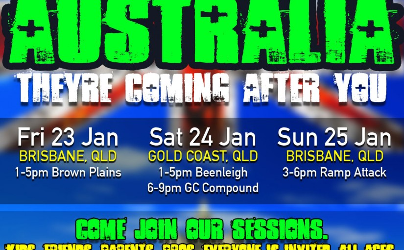 Lil Pros BMX Tour is heading to the Land Down Under! Australia 2015