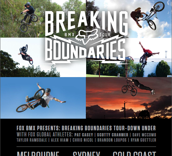 Fox presents the Breaking Boundaries Tour!