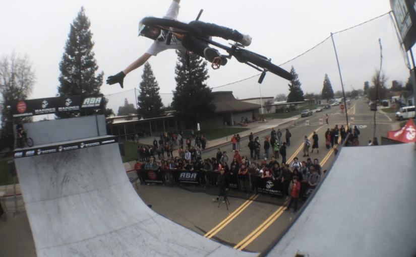 Bryce Tryon Rides a Surprise Half Pipe at his High School with ASA Action Sports
