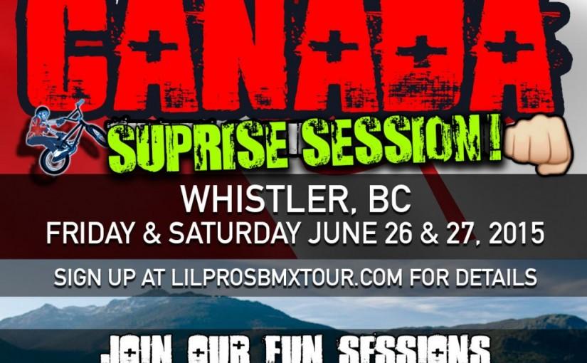 Whistler Surprise Session! British Columbia, Canada