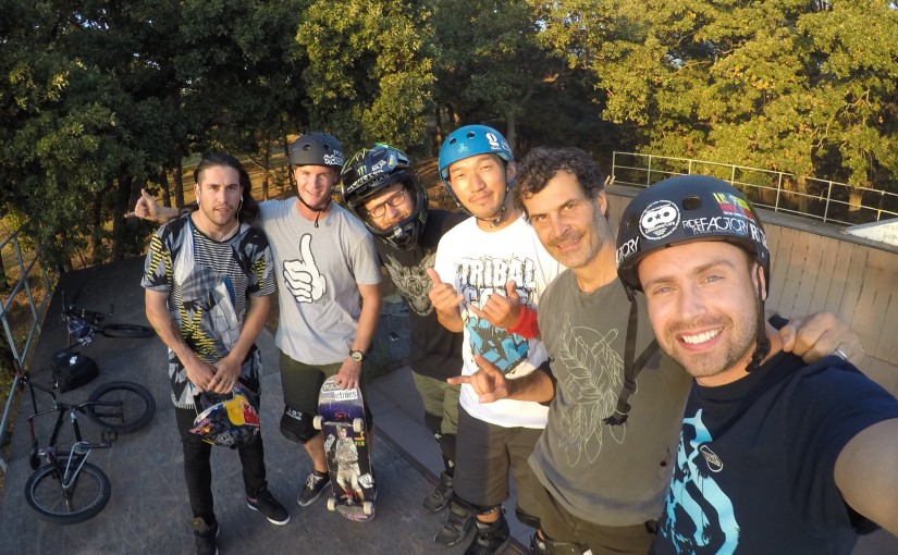 Our Day with a BMX Legend: Backyard Session at Mat Hoffman's House | ASA High School Tour