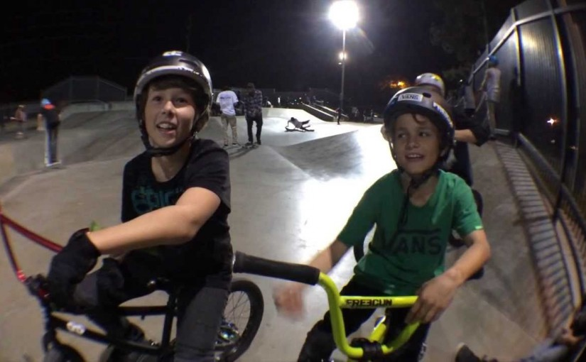 Lil Pros BMX Tour: Slowing Down with KADEN STONE (10) and DALLAS LIGHT (11)
