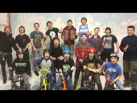 Lil Pros UK BMX Tour – Day 1 – Rob Ridge's Trick Factory – Bridport, England