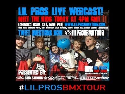 Lil Pros UK BMX Tour: Rush Skatepark – Stroud, England
