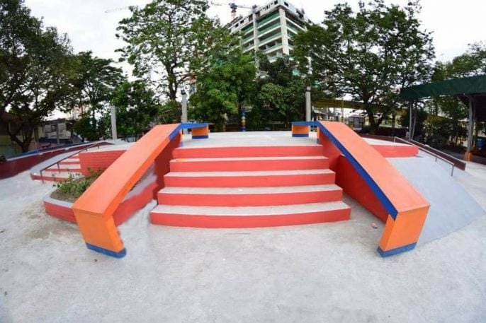 Philippines 1st free park in Manila