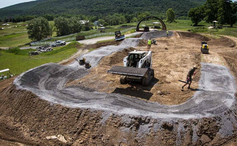New Asphalt Pumptrack for 2016