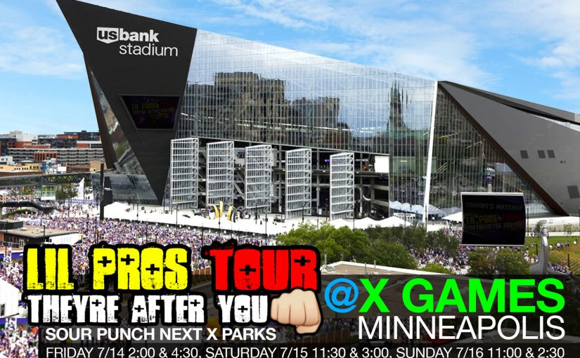 Lil Pros Tour is beyond excited to be onsite at X Games Minneapolis 2017 !!