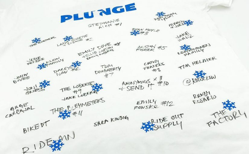 Join The PLUNGE MN SHIRT! Supporting Special Olympics Athletes