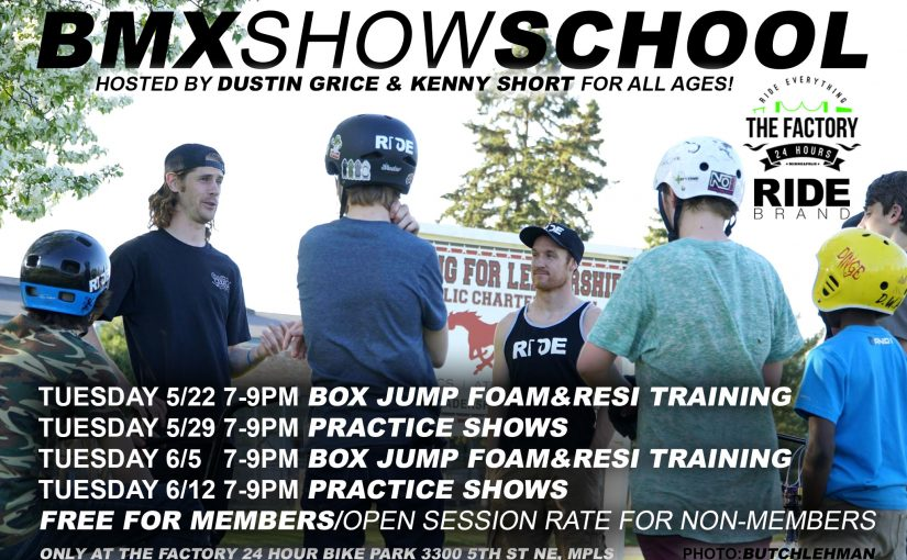 Introducing BMX Show School! Learn How to Travel The World & Perform with The Pros