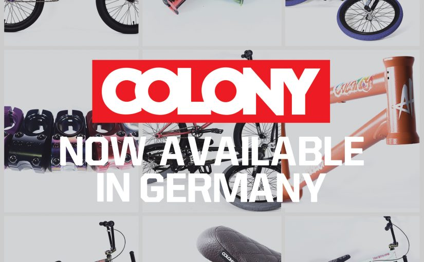 Colony products back in Germany!