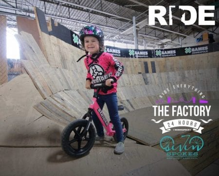 Winter Strider Race Series at The Factory!