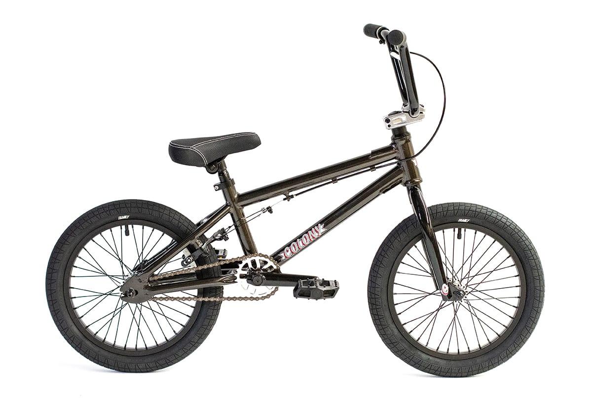 "Colony Horizon 14"" BMX Bike Metal Grey"