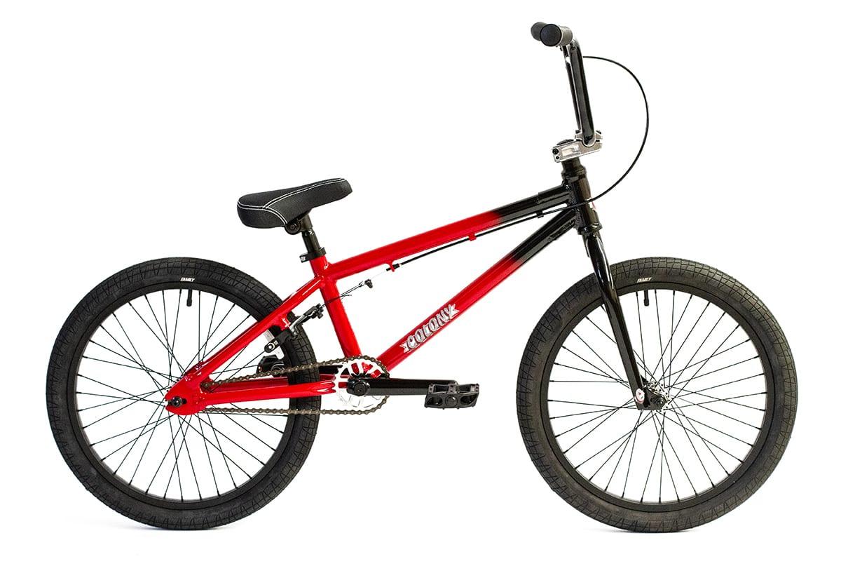 "Colony Horizon 20"" BMX bike Black Red Fade"