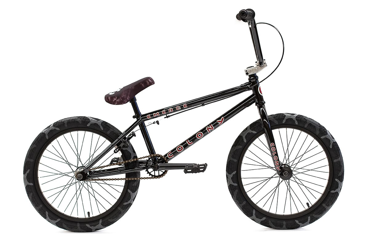 Colony BMX Emerge complete Bike Black Camo Grey