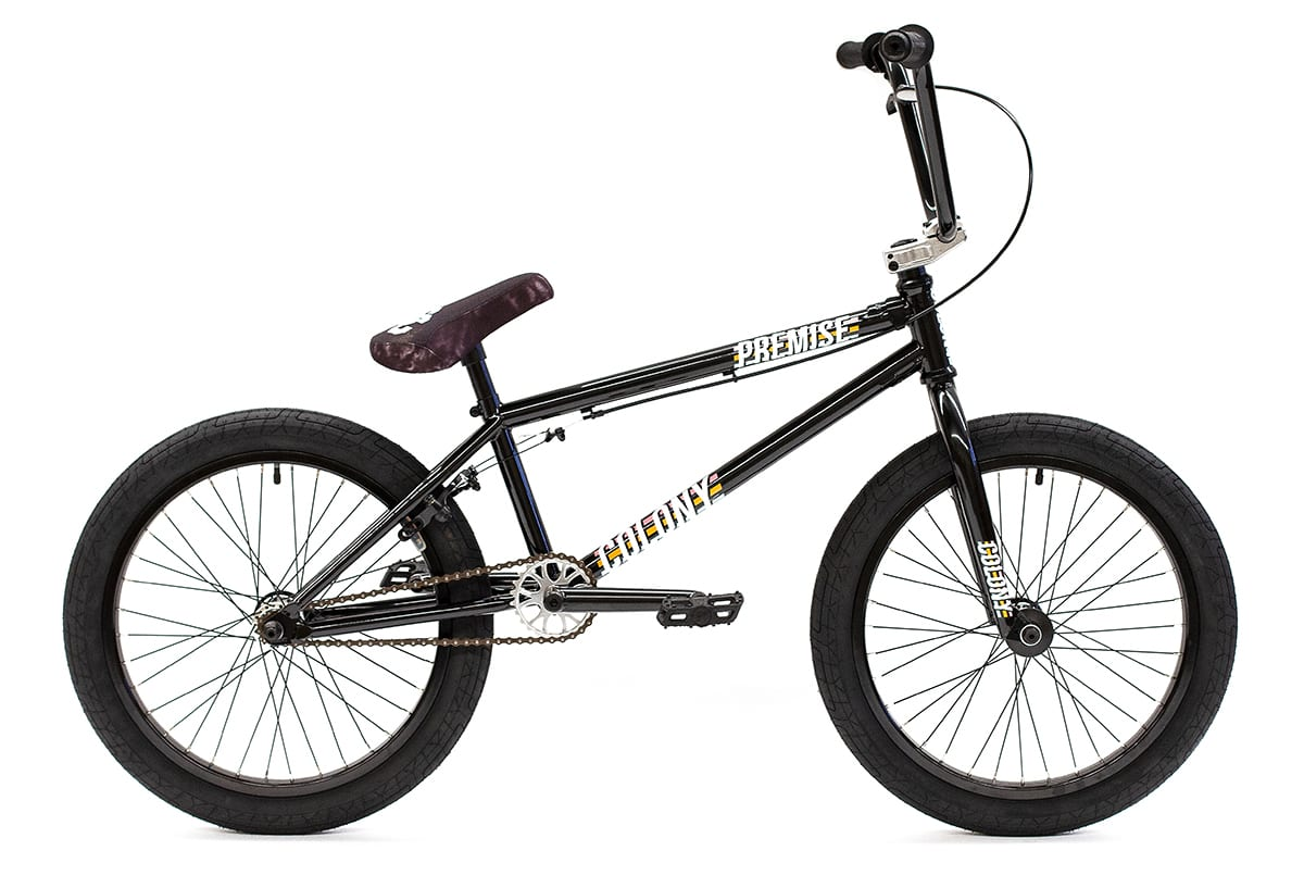 Colony BMX Premise complete bike Black Polished