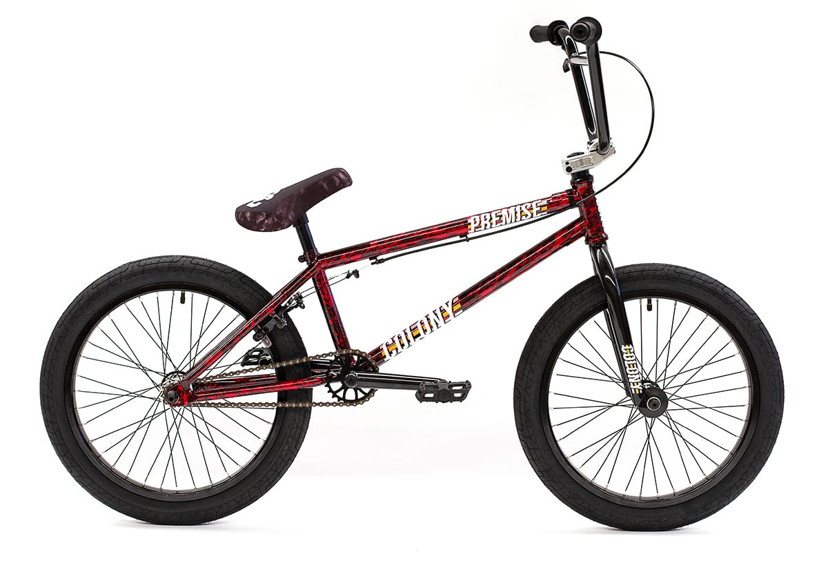 Colony BMX Premise complete bike Bloody Black