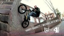 S&M BMX x 4DOWN – Harry Barrett and Michael Attewell in London!